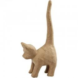 Paper Shape Cat 14.5x7.5x34.5 cm