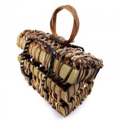 Basket Nito rectangular, 10 pcs