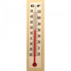 Thermometer 8 cm 10 pcs