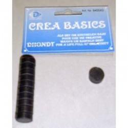 Round magnet 1/2'' 10 pieces