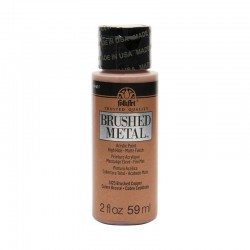 FolkArt Brushed Metal 59ml Copper