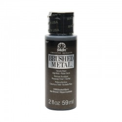 FolkArt Brushed Metal 59ml Black