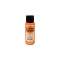Leather Studio Paint 59ml Neon Orange