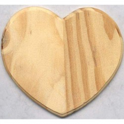 Wooden plaque Heart 12,5x11