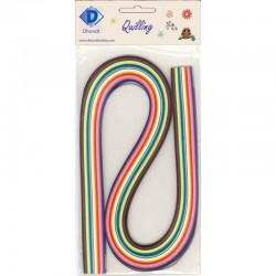 Quilling Paper 3 mm x 54 cm, 120 pcs Rainbow