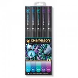 Chameleon 5-Pen Set Cool
