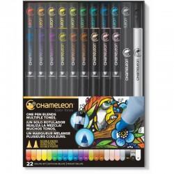 Chameleon 22-Pen De Luxe Set