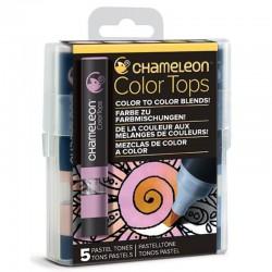 Chameleon 5-kleur Color Tops Pastel kleuren