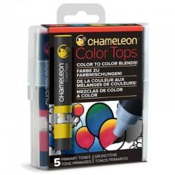 Chameleon 5-Colour Tops set Primary Tones