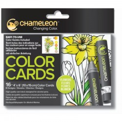 Chameleon Color Card - Bloemen