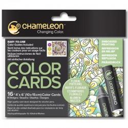Chameleon Color Card - Floral Patterns