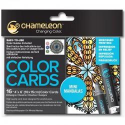 Chameleon Color Card - Mini Mandalas