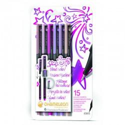 Chameleon Fineliner 6-Pen Florale kleuren Set