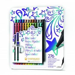 Chameleon Fineliner 24-Pen Bold Colors Set