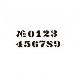 Mov. & Shapers Set 11PK° - Cargo Stencil Number Set by Tim Holtz C