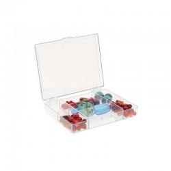 7 Compartment box 118x90x20mm