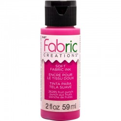 Fabric Creations Soft Fabric Ink 59ml Fruit Punch