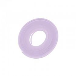PVC flat band 6x2mm x2 metres lilac