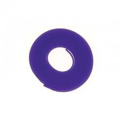 PVC flat band 6x2mm x2 metres purple