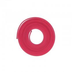 PVC flat band 6x2mm x2 metres plum