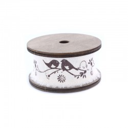 Vintage spool tape birds x3m