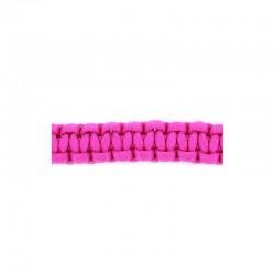 Spool paracord nylon 4mm x40m. Hot pink
