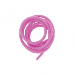 PVC cord 4mm 1m. hot pink