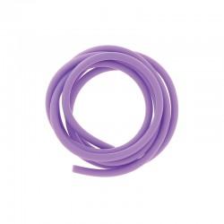 PVC cord 4mm 1m. purple