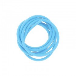 PVC cord 4mm 1m. Turquoise