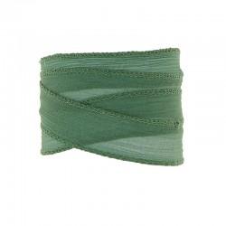 Silk ribbon 24mm x85cm forest