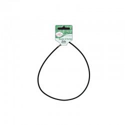 Silky necklace L.46cm Ø3mm black