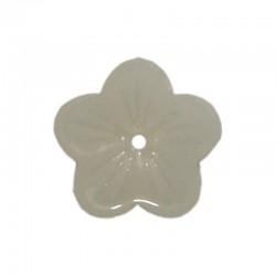 Glass buttercups 14mm x20pcs opal