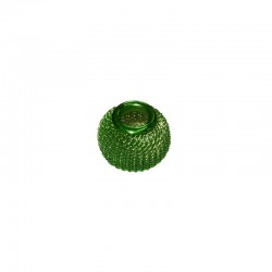 Wire mesh round 11mm, hole 5mm lime green, x5pcs