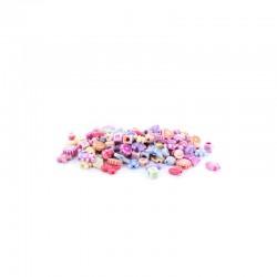 Assort. Perles pastel enfants 25g