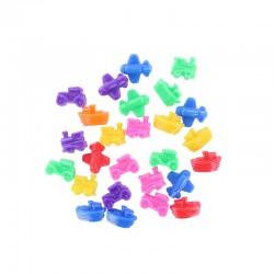 Plastic beads transport 100g