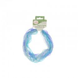 Assort. Rocailles beads matt & shiny 100g Blue