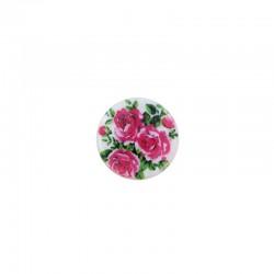 Cabochon nacre 16mm x 6pcs roses