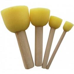 Mushroom Sponge set van 4 12,19,26,40 mm