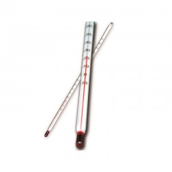 Wax thermometer long 265mm 150°C