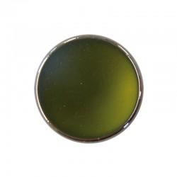 Luna soft bead 28mm° olive 6pcs