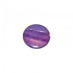 String shell coins 30mm purple 13pcs