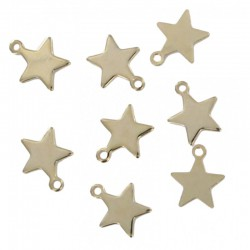Mini Charm gold - Star (10 pcs)