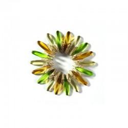 Bracelet kit PYRAMIDS green/amber°