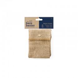 Bare Basics - Hessian Pockets 3pcs°