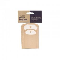 Bare Basics - Kraft tags and pockets