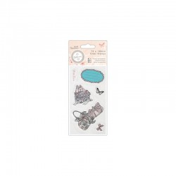 Bellisima - 75 x 140mm Mini Clear Stamp - Shoes & Bags