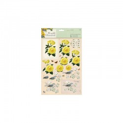 Botanicals - A4 Decoupage Pack - mixed roses°