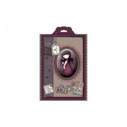 A4 Decoupage Pack - Gorjuss - Pink Poppy