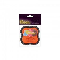 Neon Pigment Ink Pad - Orange