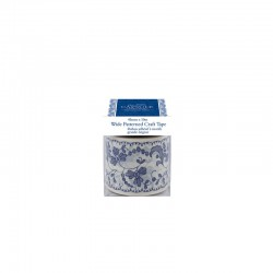 Capsule  - Patterned Craft Tape 45mmx10m - Parisienne blue°
